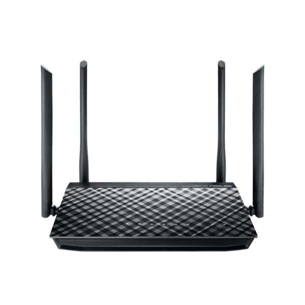 Asus RT-AC1200G+ Router (dualband, gigabit, gast)